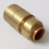 Brass Push Fit 28mm Fitting Reducer to 15mm Pipe - 27062218